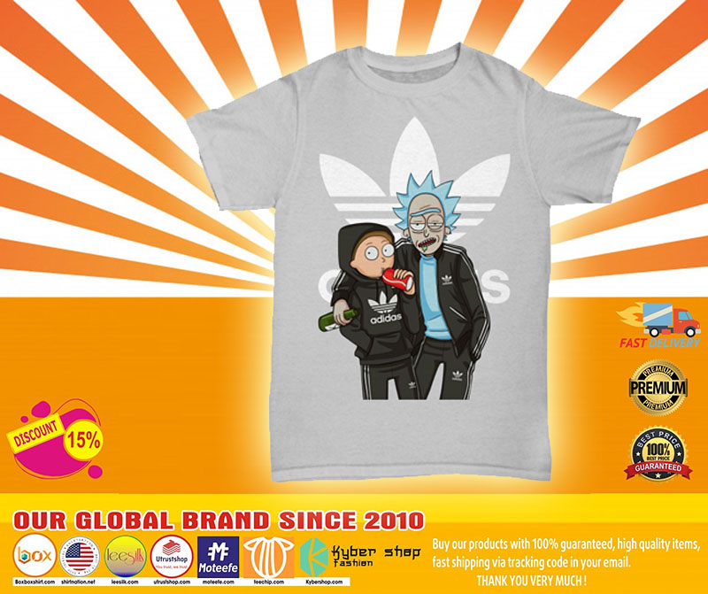 [LIMITED] Rick and Morty Adidas shirt