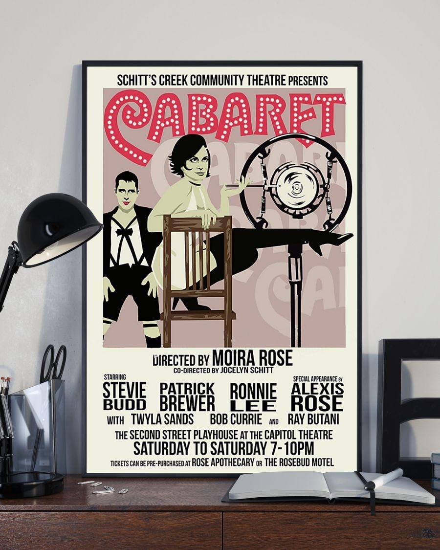 [LIMITED] Poster Schitt's creek Cabaret community theatre presents