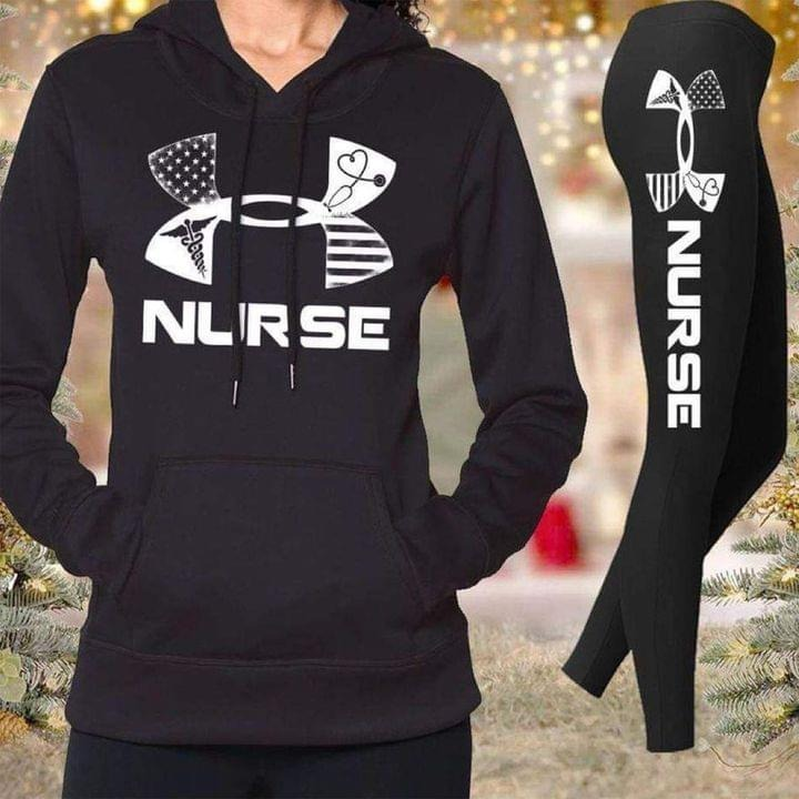 [LIMITED] Under Armour Nurse shirt and legging