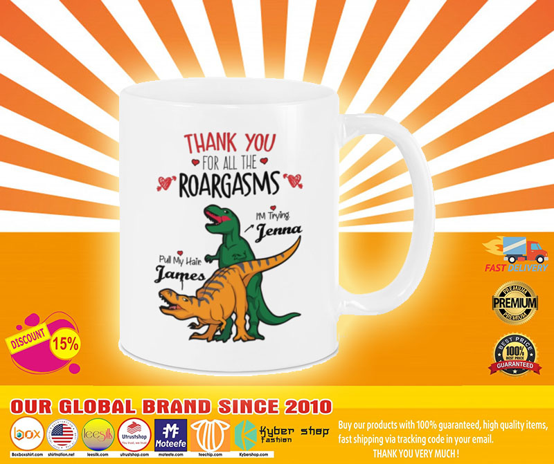 [LIMITED] Valentine Dinosaur Thank you for all the roargasms Pull my hair I'm trying mug