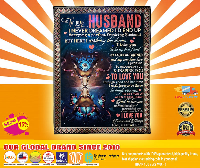 [LIMITED] Wolf to my husband I never dreamed i'd end up blanket