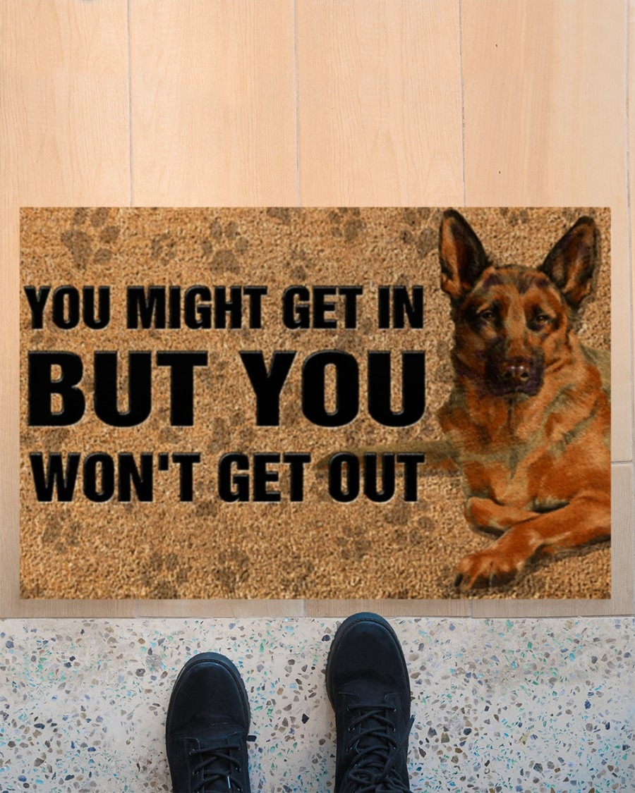 [LIMITED] You might get in but you won't get out doormat