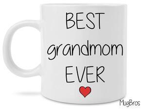 Amazing best grandmom ever coffee mug
