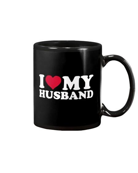 Amazing i love my husband happy valentine's day mug