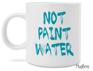 Amazing not paint water watercolor art coffee mug