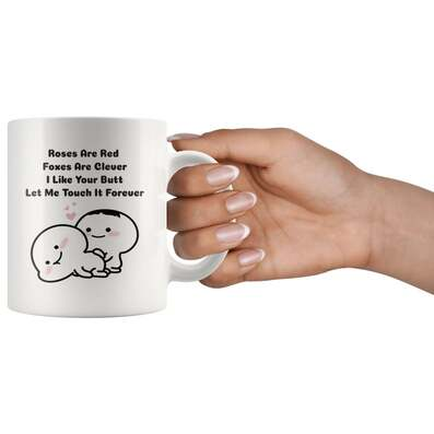 Amazing roses are red foxes are clever i like your butt let me touch it forever couple love cup
