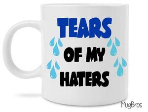 Amazing tears of my haters coffee cup