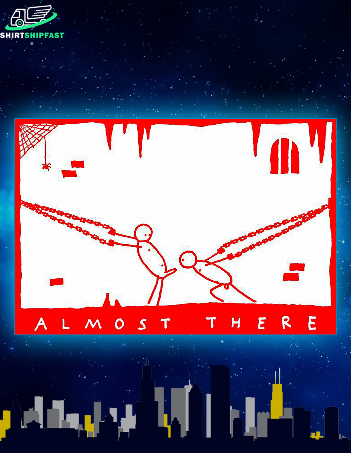 Almost there poster