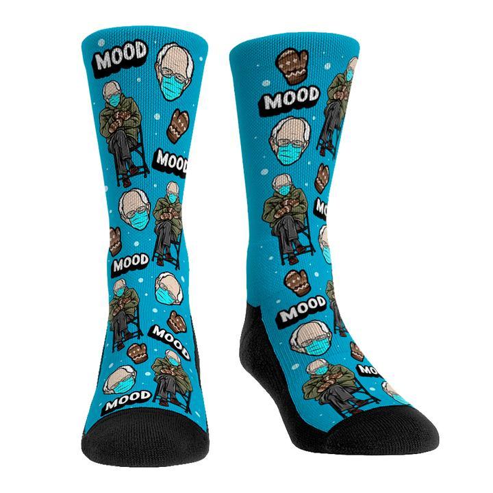 Bernie Sanders inauguration meme mood socks