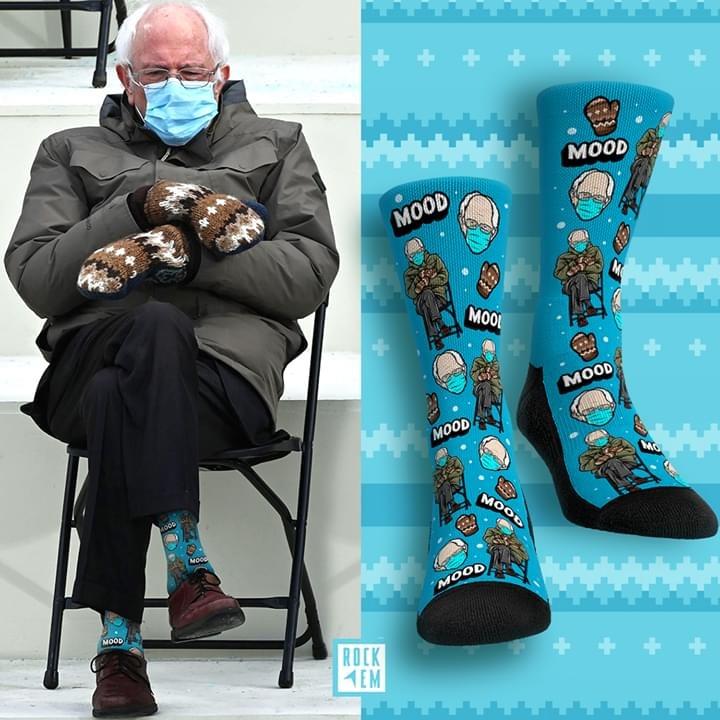 [LIMITED] Bernie sanders Mood leg