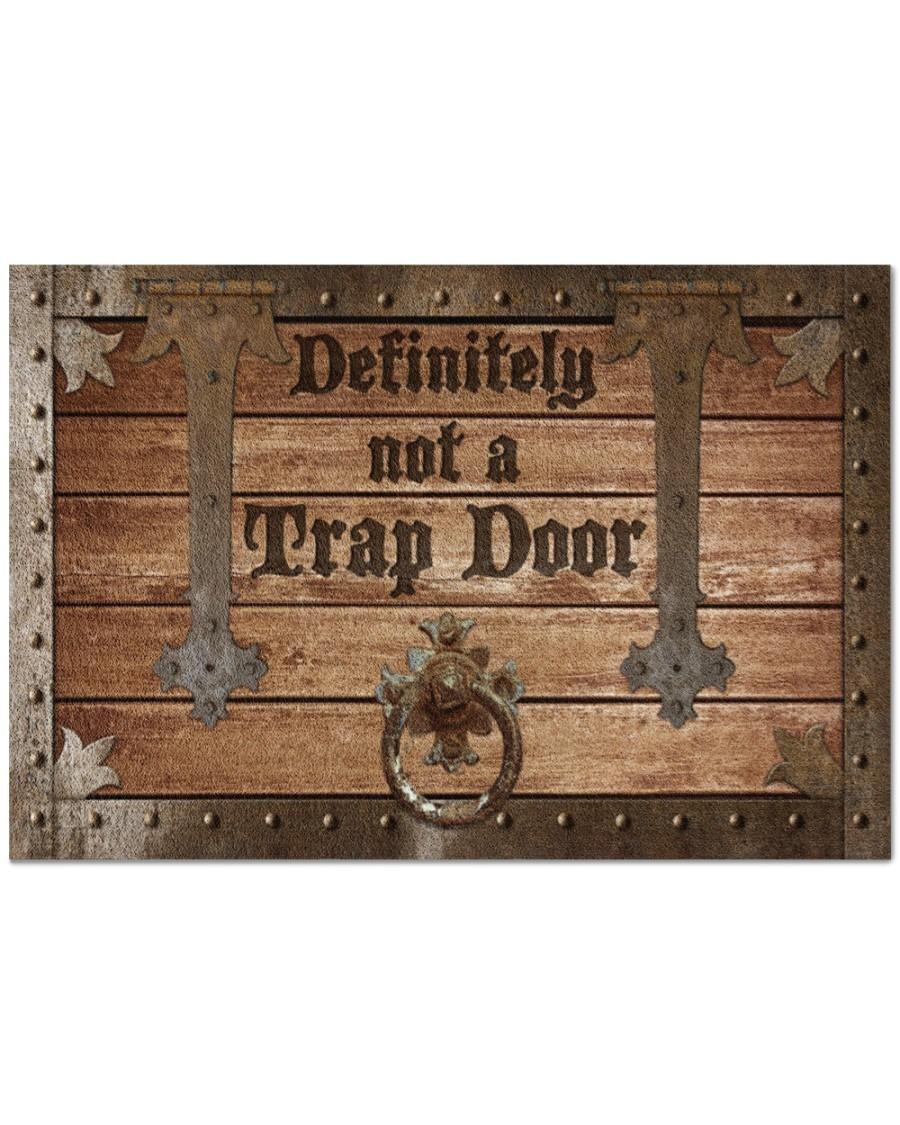 [LIMITED] Definitely not a trap door doormat