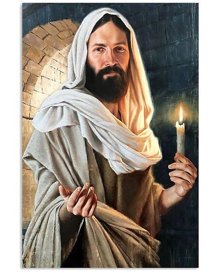 Amazing God says come unto me poster