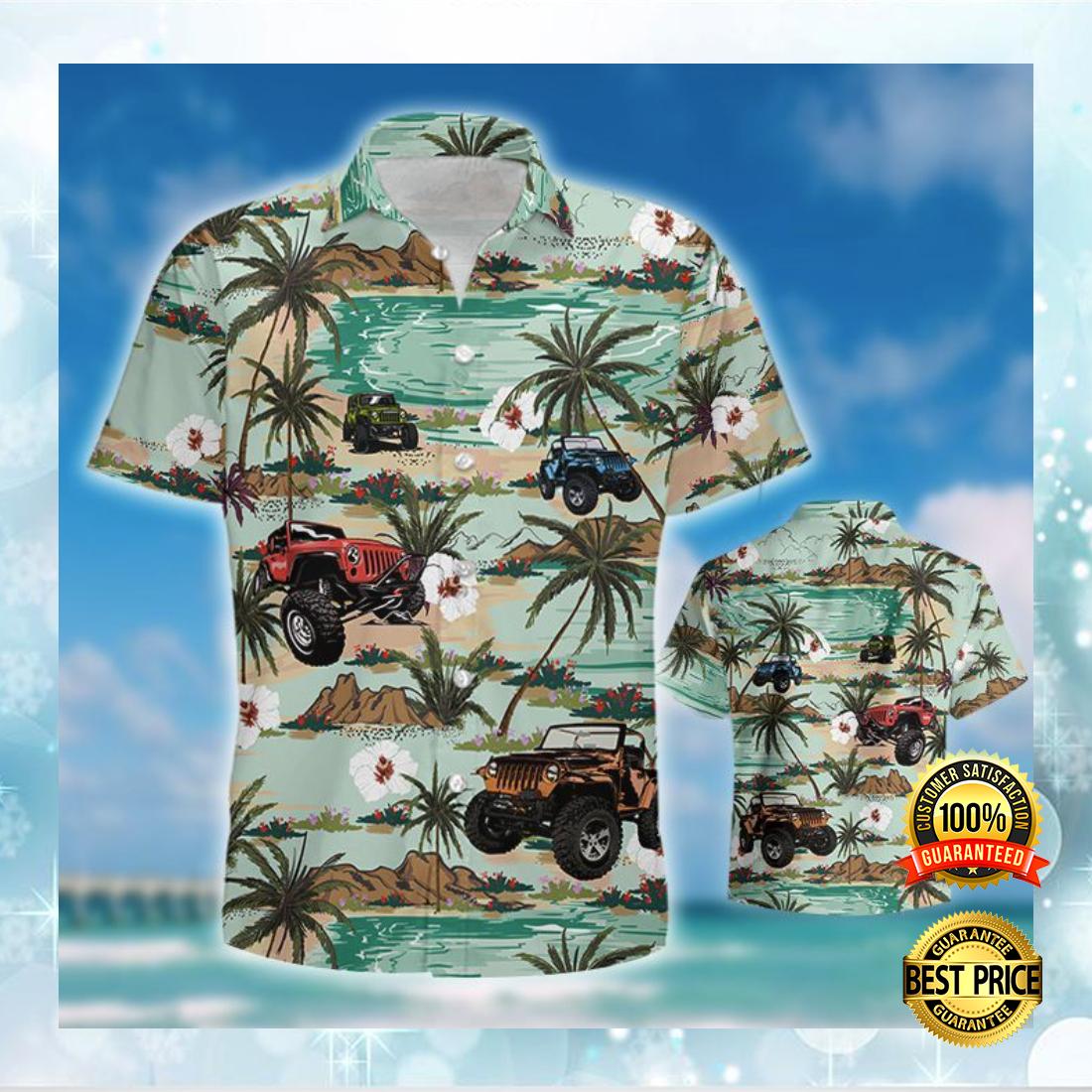 [Cheapest] Jeep Car Hawaiian Shirt