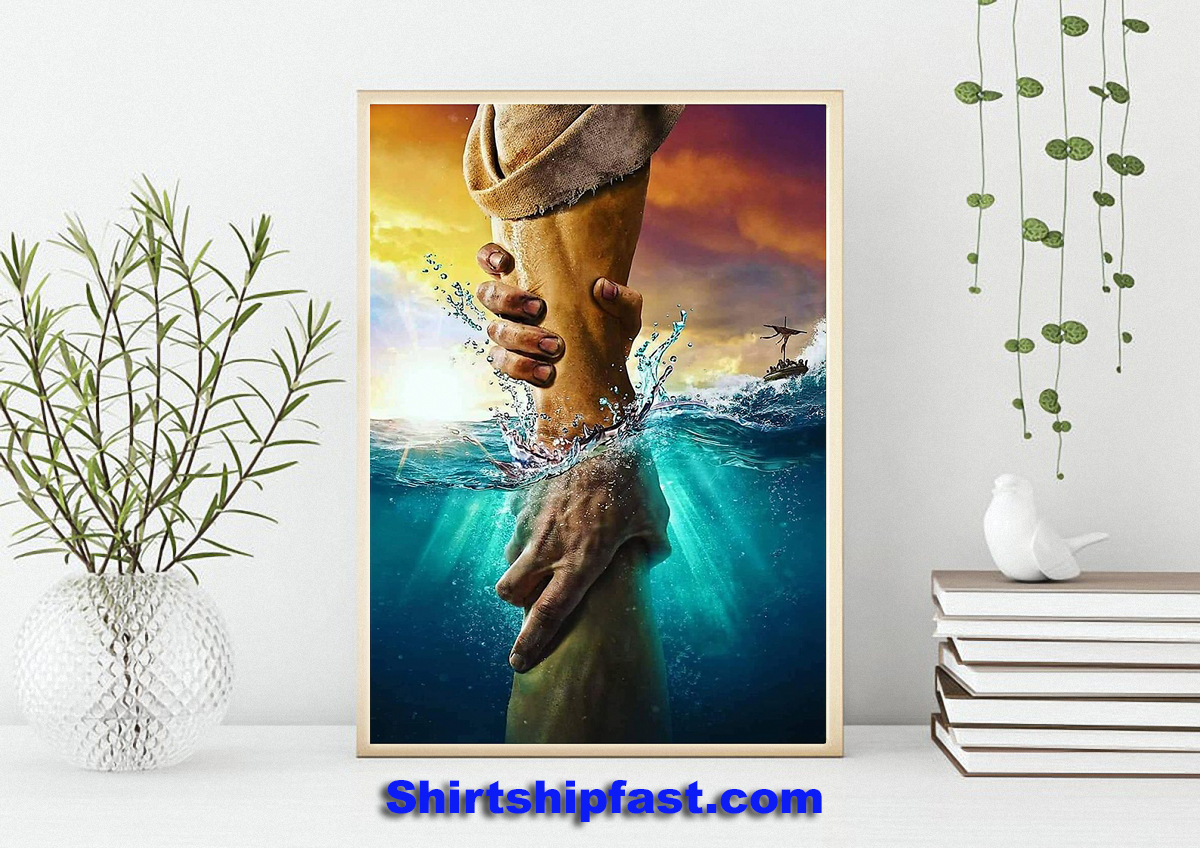 Jesus don't be afraid just have faith poster