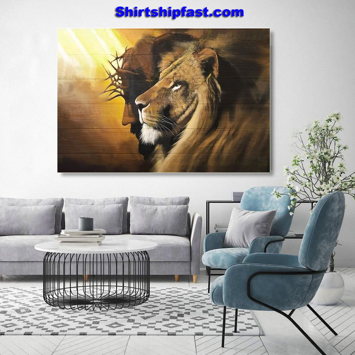 Jesus the Lion of Judah canvas