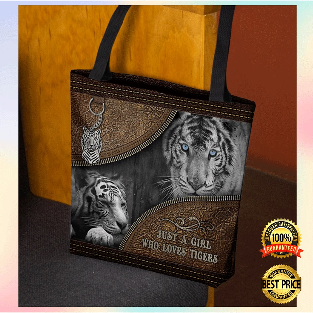 [Limited] Just A Girl Who Loves Tigers Tote Bag