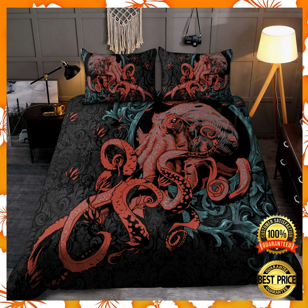 [Trend] Octopus Gothic Style Bedding Set