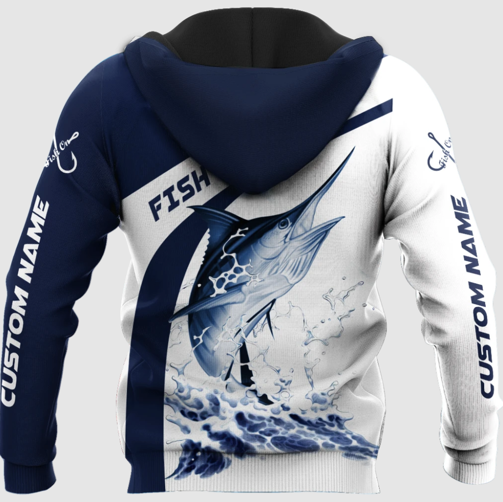 [New] Personalized Fish Reaper All Over Printed 3D Hoodie