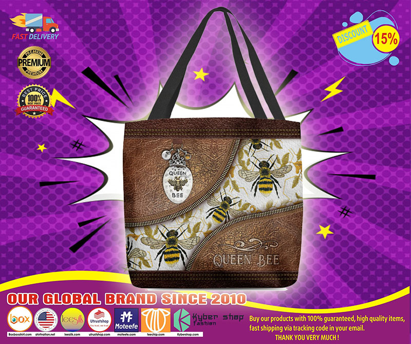 [LIMITED] Queen bee leather tote bag