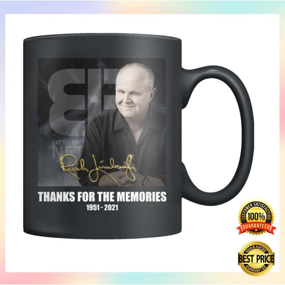 [New] Rush Limbaugh Thanks For The Memories Mug