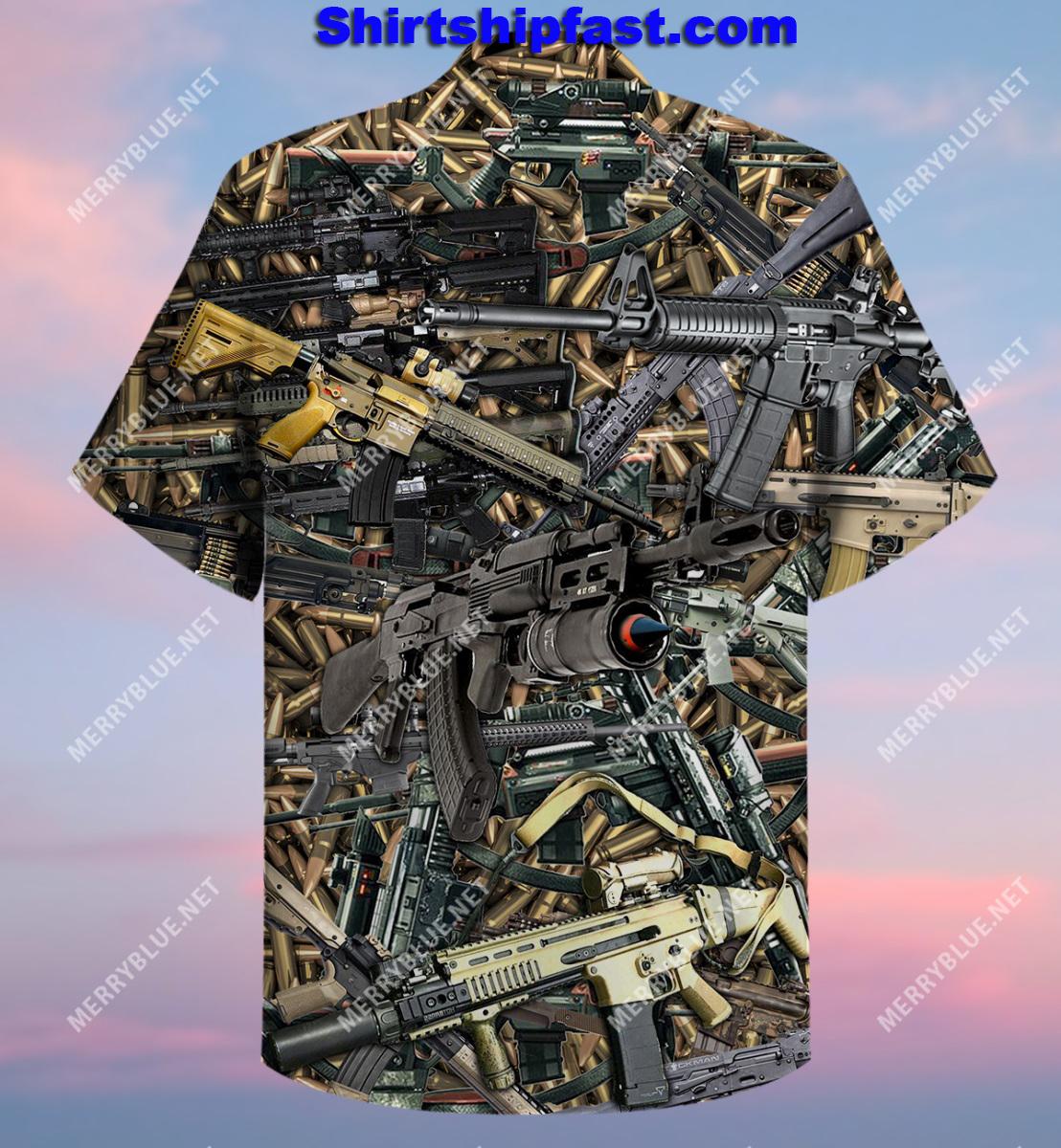 The quickest way to a man's heart is 2970 feet per second hawaiian shirt and short sleeve shirt