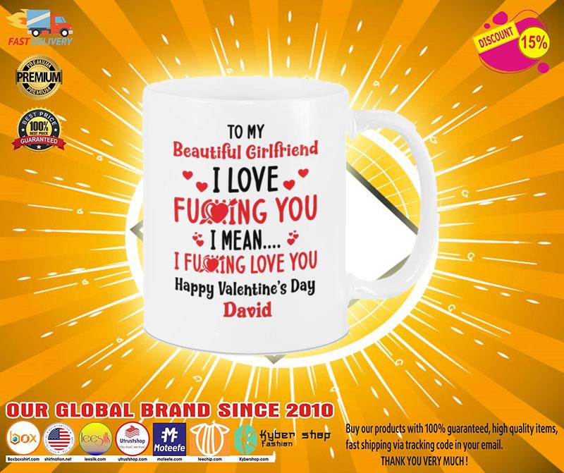 [LIMITED] To my beautiful girlfriend mug