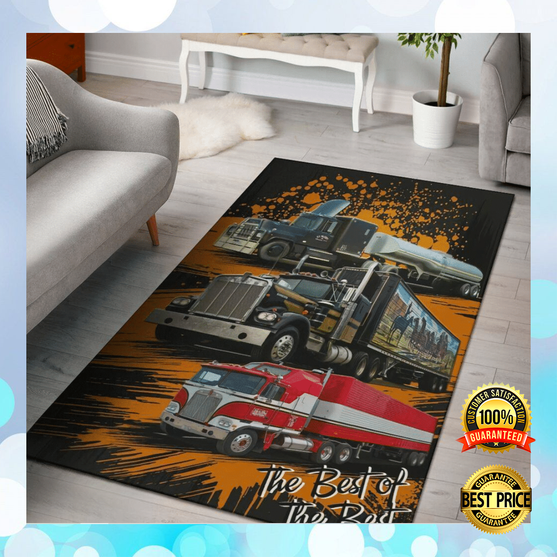 [Sale Off] Truck The Best Of The Best Rug