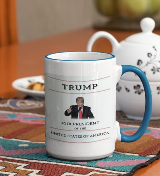 [LIMITED] Trump 45th president of the united states of america mug
