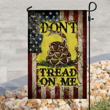Amazing american flag dont tread on me all over print flag