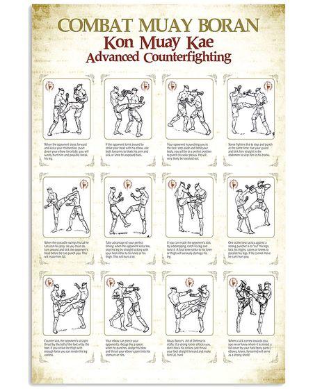 Amazing boxing is my life combat muay thai boran poster