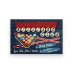 Amazing custom your name billiard club cool beer good times poster