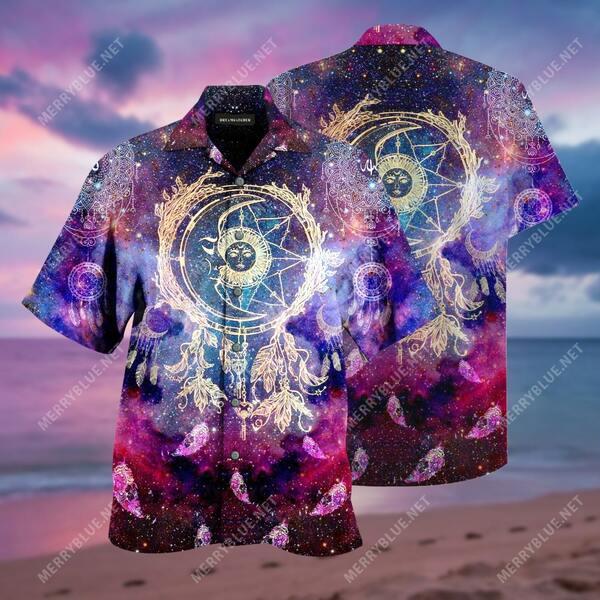 Amazing dreamcatcher colorful all over print hawaiian shirt