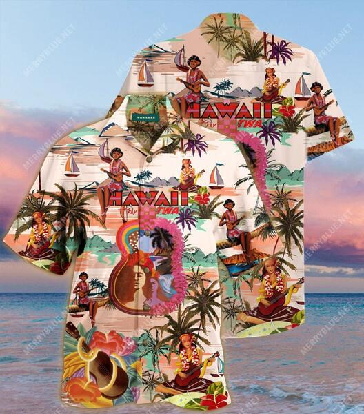 Amazing feel the music summer all over printed hawaiian shirt