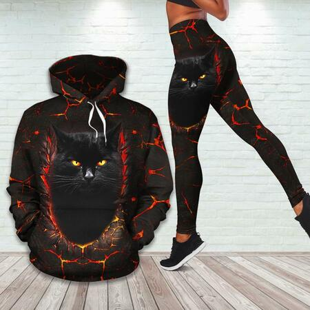 Amazing thunder and fire for cat lover all over printed shirt