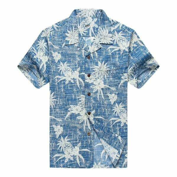 Amazing tropical flower and fruit all over printed hawaiian shirt