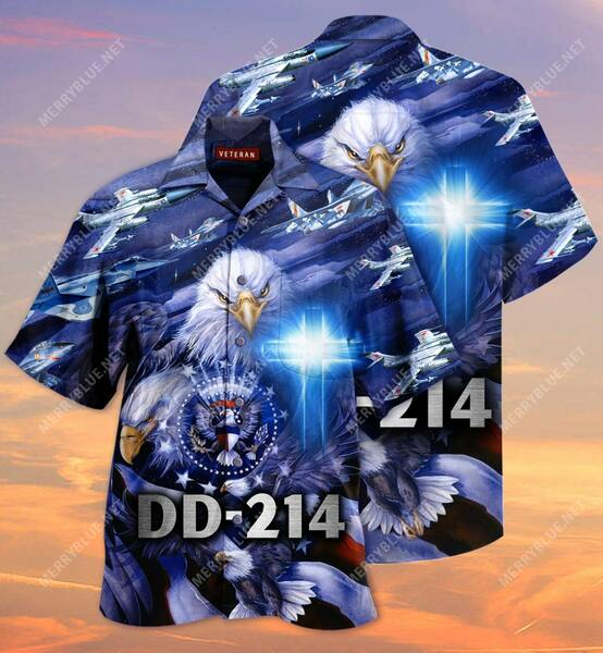 Amazing united state veteran on the sky all over printed hawaiian shirt