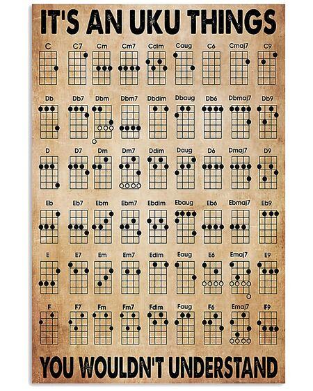 Amazing vintage uku things ukulele poster
