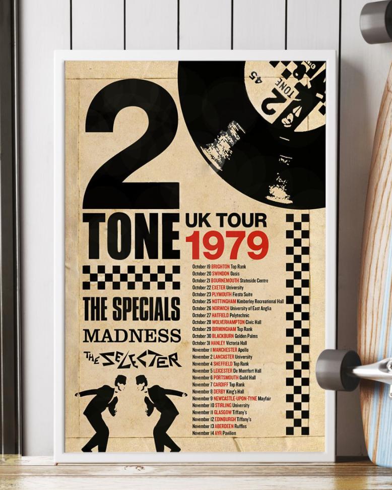 [Cheapest] 2 Tone Uk Tour 1979 Poster