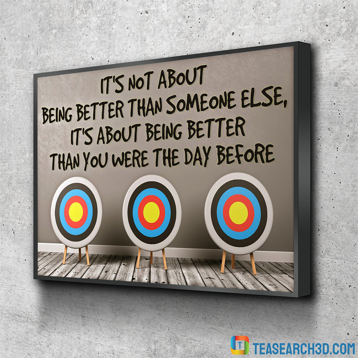 Archery Archers it's not about being better than someone else poster