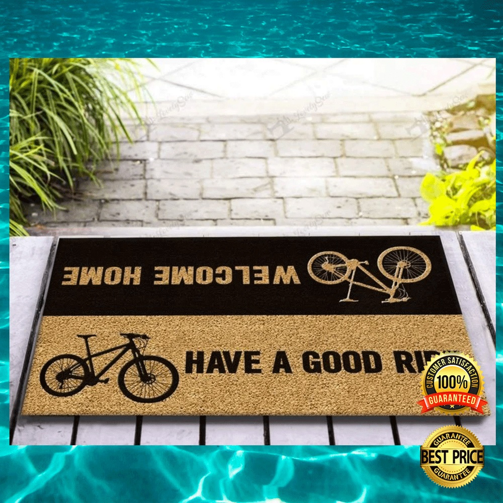 [TREND] BICYCLE WELCOME HOME HAVE A GOOD RIDE DOORMAT