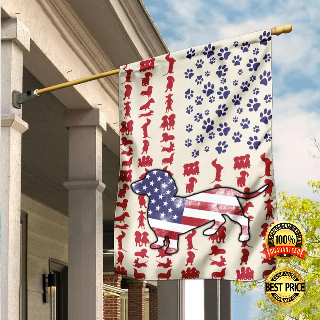 [SALE OFF] DACHSHUND AMERICAN FLAG