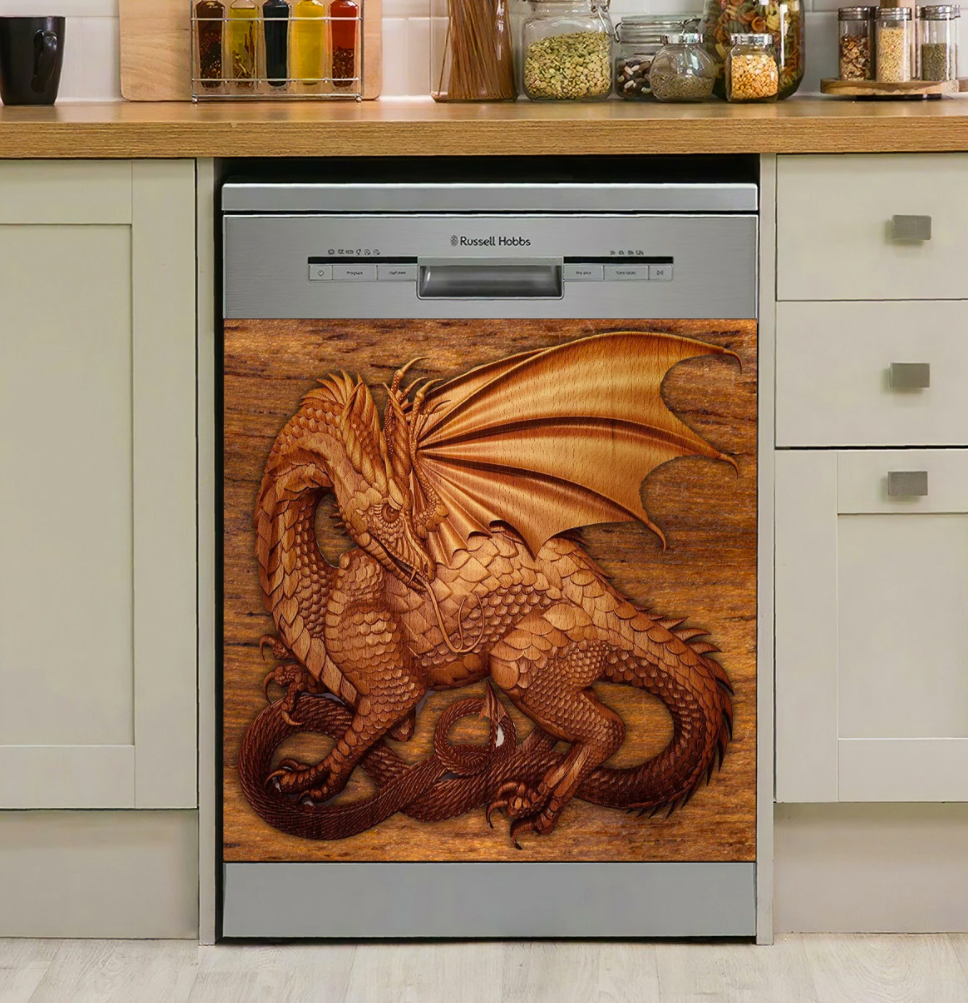[WOW] DRAGON LOVERS DISHWASHER COVER