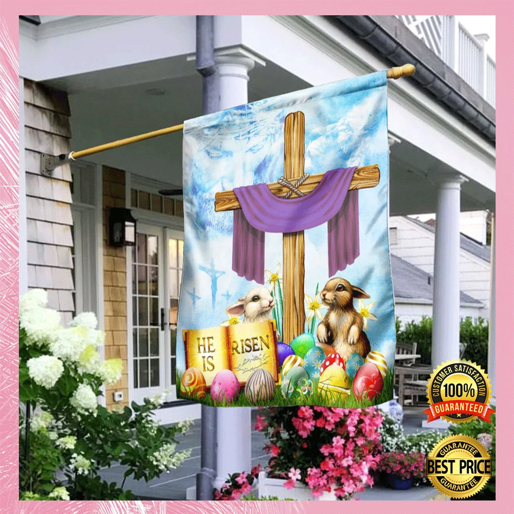 [Cheapest] Happy Easter He Is Risen Flag