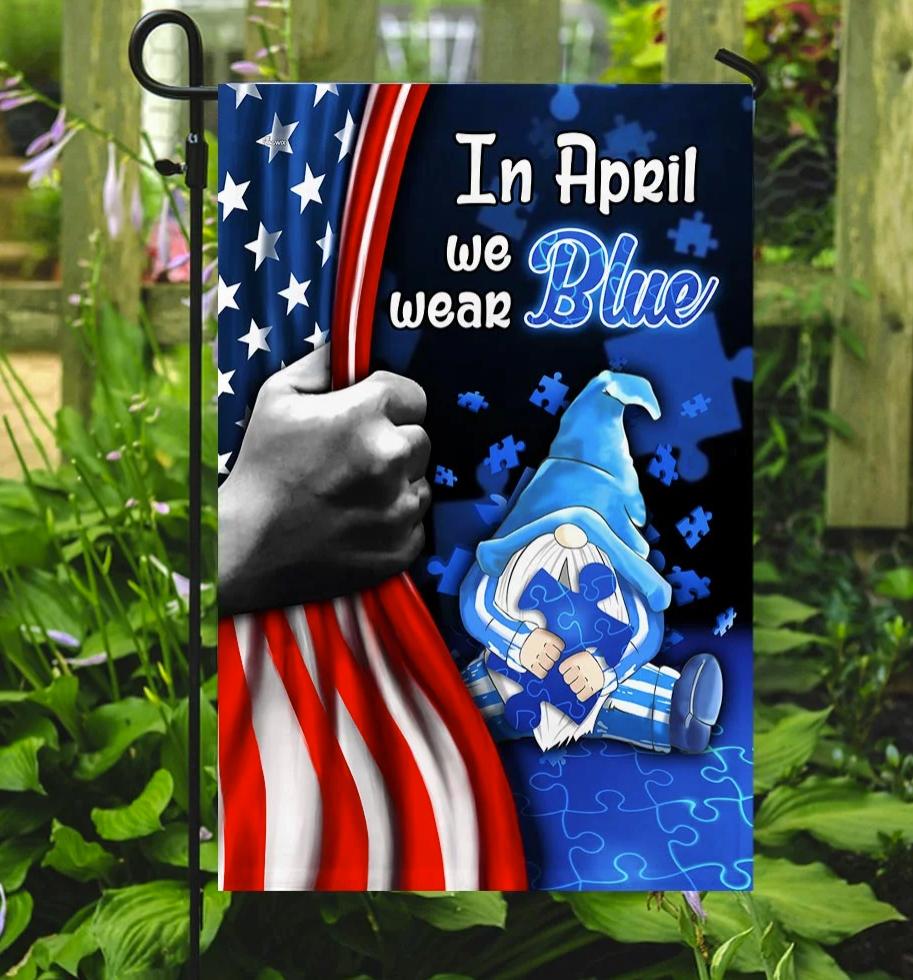 [Trend] In April We Wear Blue Flag