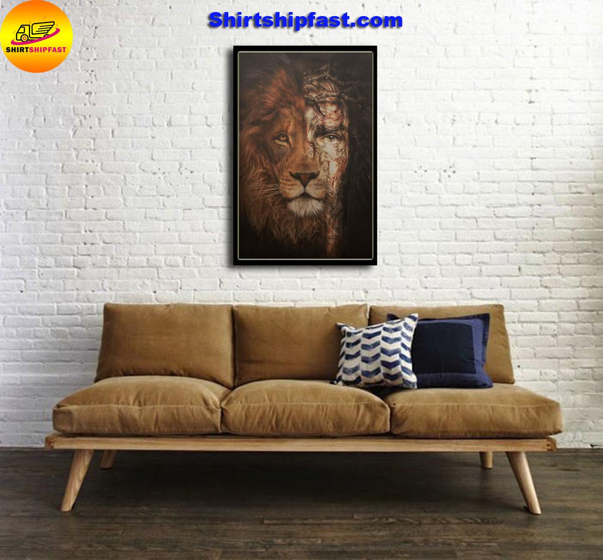 Jesus Lion of judah canvas