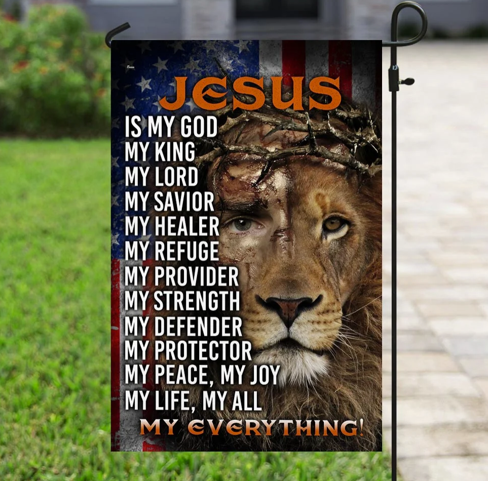 [HIGH] JESUS IS MY EVERYTHING FLAG