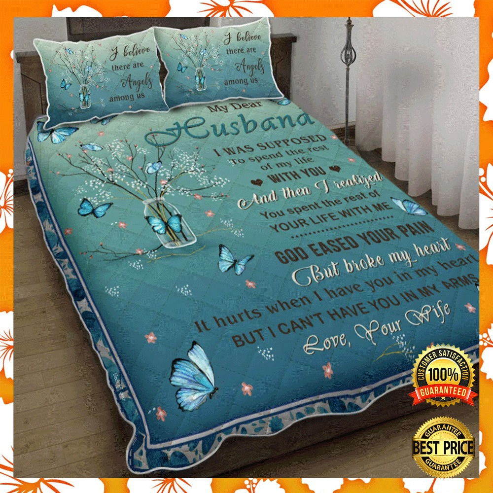 [NEW] MY DEAR HUSBAND I WAS SUPPOSED TO SPEND THE REST OF MY LIFE WITH YOU BEDDING SET