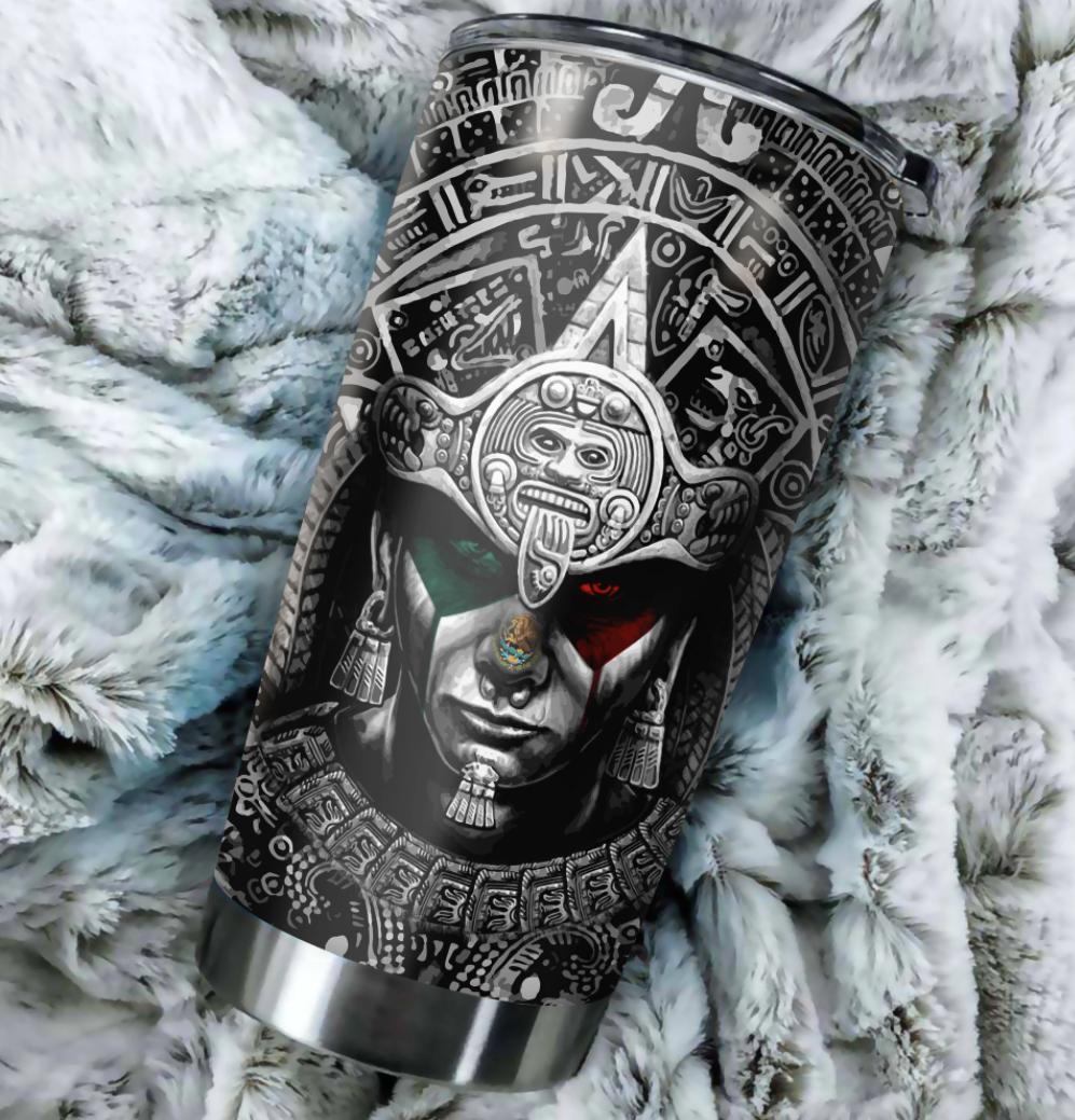 [New] Personalized Aztec Mexico Tumbler