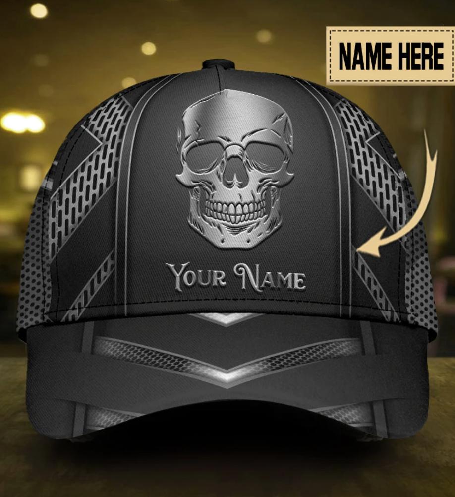 [NEW] PERSONALIZED SKULL CAP