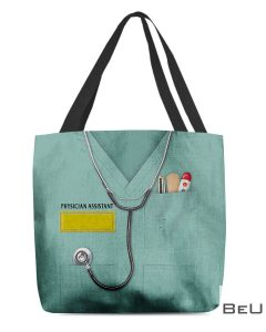 Physician Assistant Scrub Tote Bag